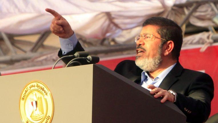 Mohamed Morsi. Beeld epa