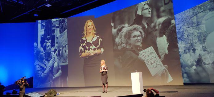 Lilian Marijnissen speecht tijdens het SP-partijcongres