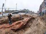Stukje oude stadsmuur gevonden in Doetinchem