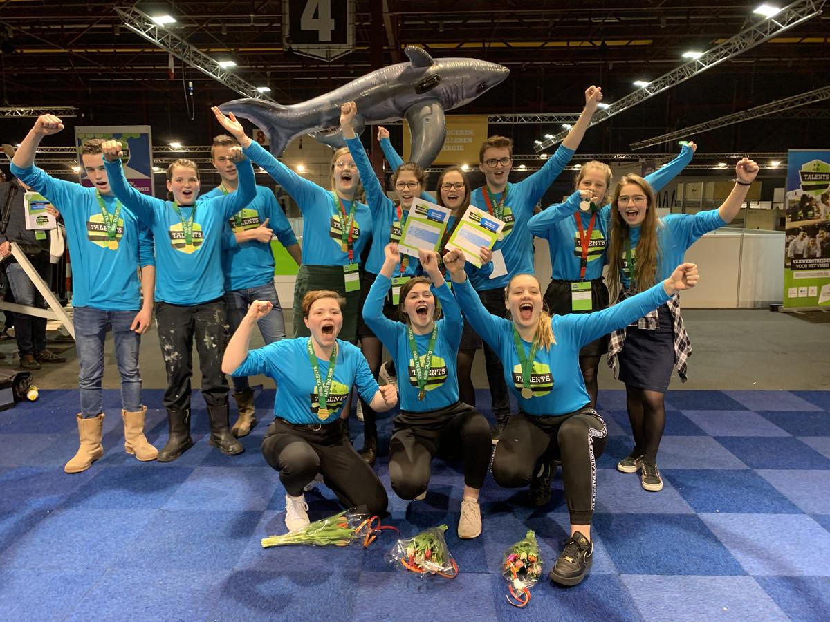 Deelnemers Skills Talents in Leeuwarden