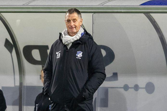 Trainer Ernie Brandts van FC Eindhoven