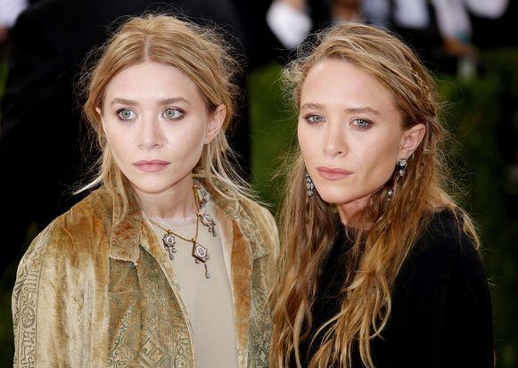 Ashley (links) en haar zus Mary-Kate (rechts)