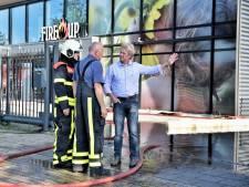Directeur van Fire-Up daags na de brand in Oisterwijk: 'Ik ben ontzettend blij, alleen magazijn afgebrand'