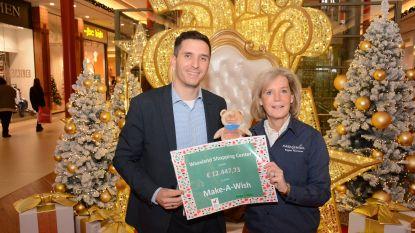 Waasland Shopping Center zamelt 12.447 euro in voor Make-a-Wish