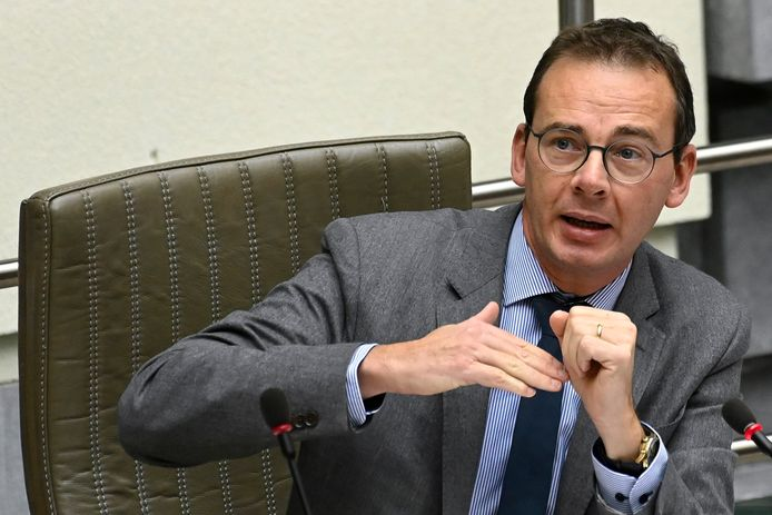 Wouter Beke, ministre flamand du Bien-Être (CD&V).