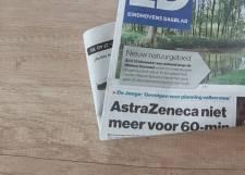 Verkeerde pagina's in de krant