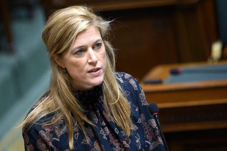 Minister van Binnenlandse Zaken en Institutionele hervormingen Annelies Verlinden.  Beeld Photo News