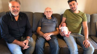 Senne De Cramer jongste 'motorfreak' van de familie