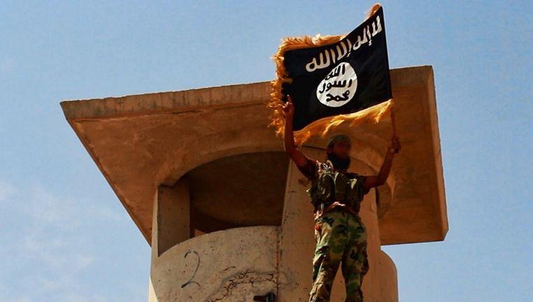 Een IS-strijder in Irak.