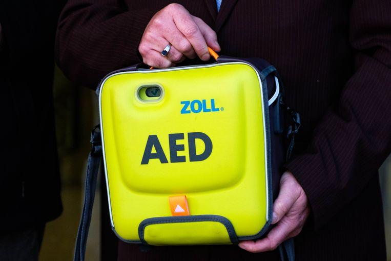 Er werd een mobiel AED-toestel toegevoegd aan de stedelijke uitleendienst.