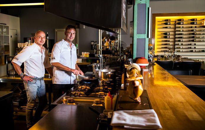 Restaurant Unique uit Gouda, Sven Lutterman en Maurice Hoegee.