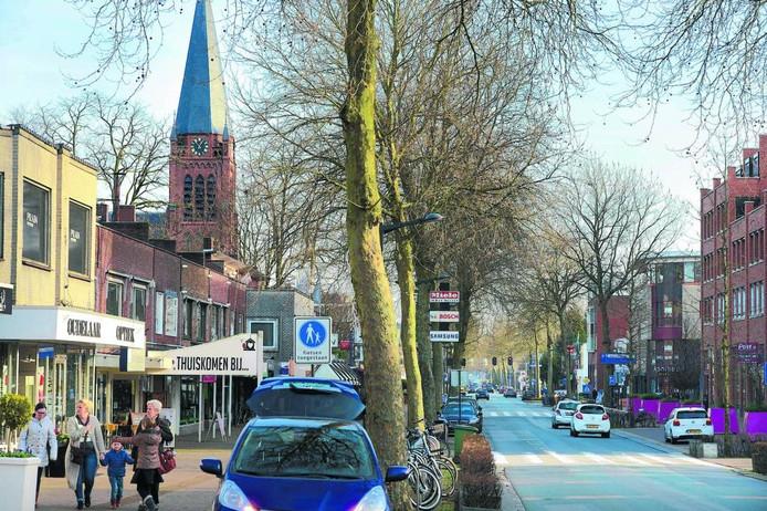 Voor de herinrichting van de Groetstraat in Nijverdal is 2,4 miljoen euro beschikbaar.
