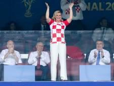 Kroatische president ster van finale