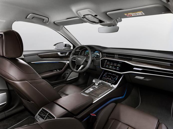 De A6 kan zich al op 400 punten aan zeven verschillende rijders aanpassen.