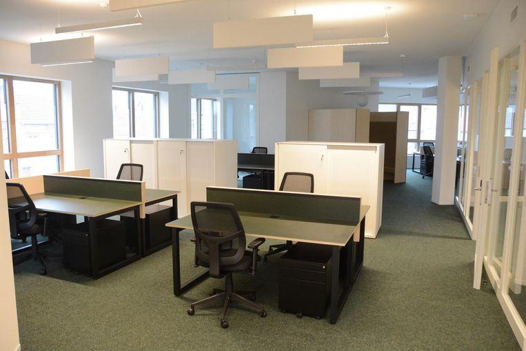 In het nieuwe administratief centrum is er plaats voor een honderdtal personeelsleden.