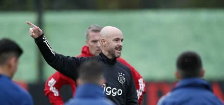 Ten Hag wil dat Ajax moed toont tegen 'de beste club ter wereld'