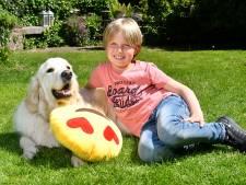 Lucas (8) vindt vakantieliefde Zoë terug: geen vlinders, wel samen spelen