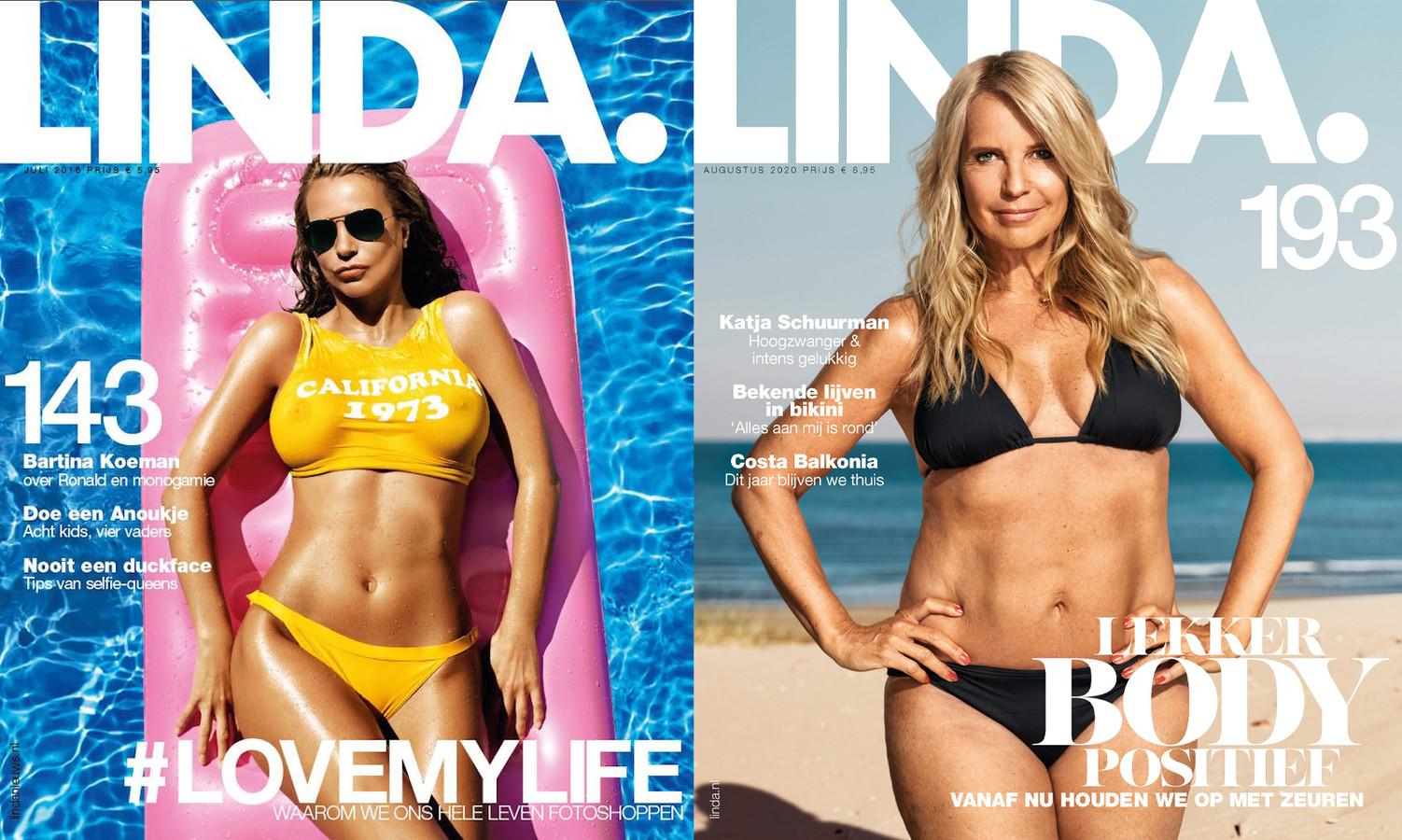 Waar LINDA. 143 nog in het teken stond van fotoshop, draait het in LINDA. 193 juist om body positivity.