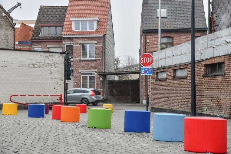 De H.Hartschool in de Werkplaatsstraat.