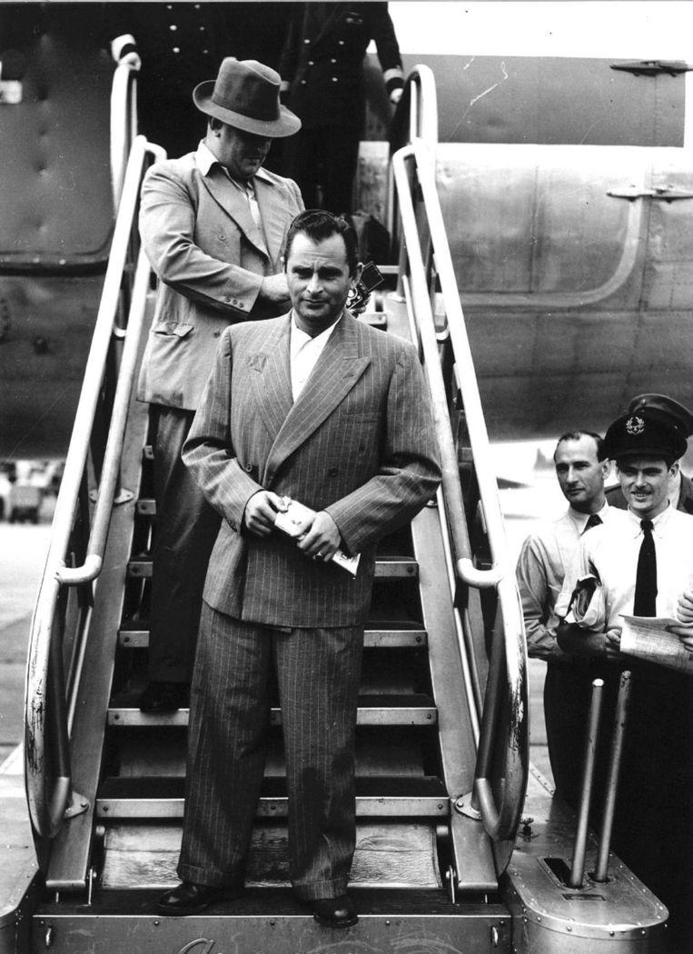1950: kapitein Westerling arriveert uit 'de Oost'. Beeld ANP