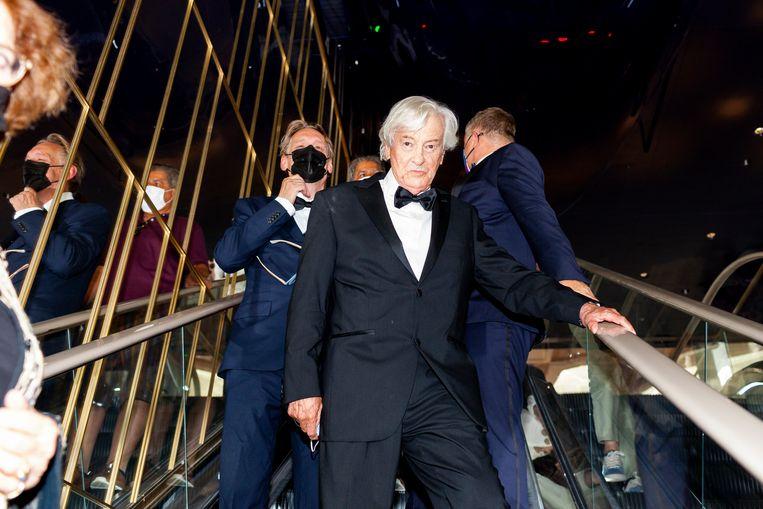Paul Verhoeven op het filmfestival van Cannes 2021.   Beeld Renate Beense