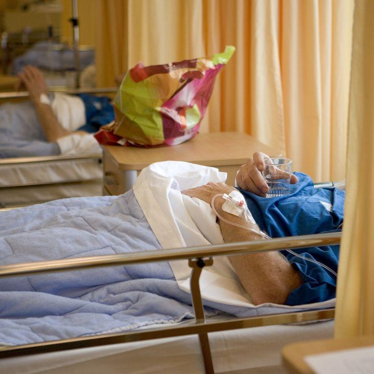 Het Wilhelmina Ziekenhuis. Beeld Harry Cock