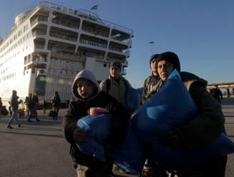 2.400 nieuwe vluchtelingen in Griekse havenstad Piraeus