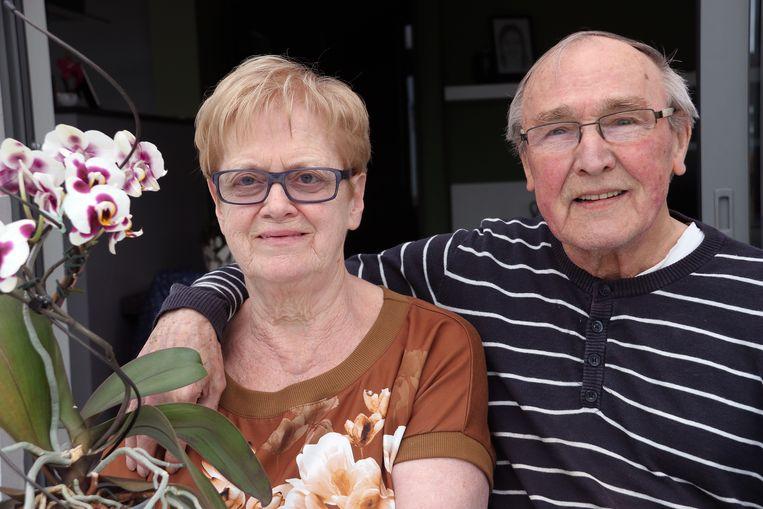 Greta Delen en Ludovicus Lodewyckx zijn 50 jaar getrouwd.
