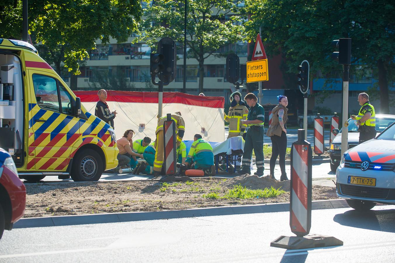 Ongeval Laan van Zevenhuizen.