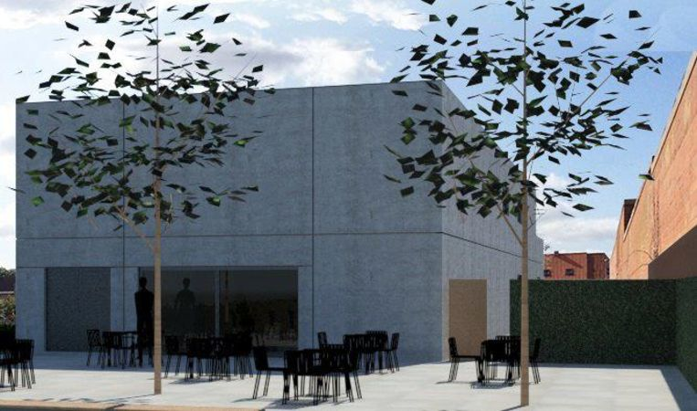 Zo zal het nieuwe jeugdhuis eruitzien.