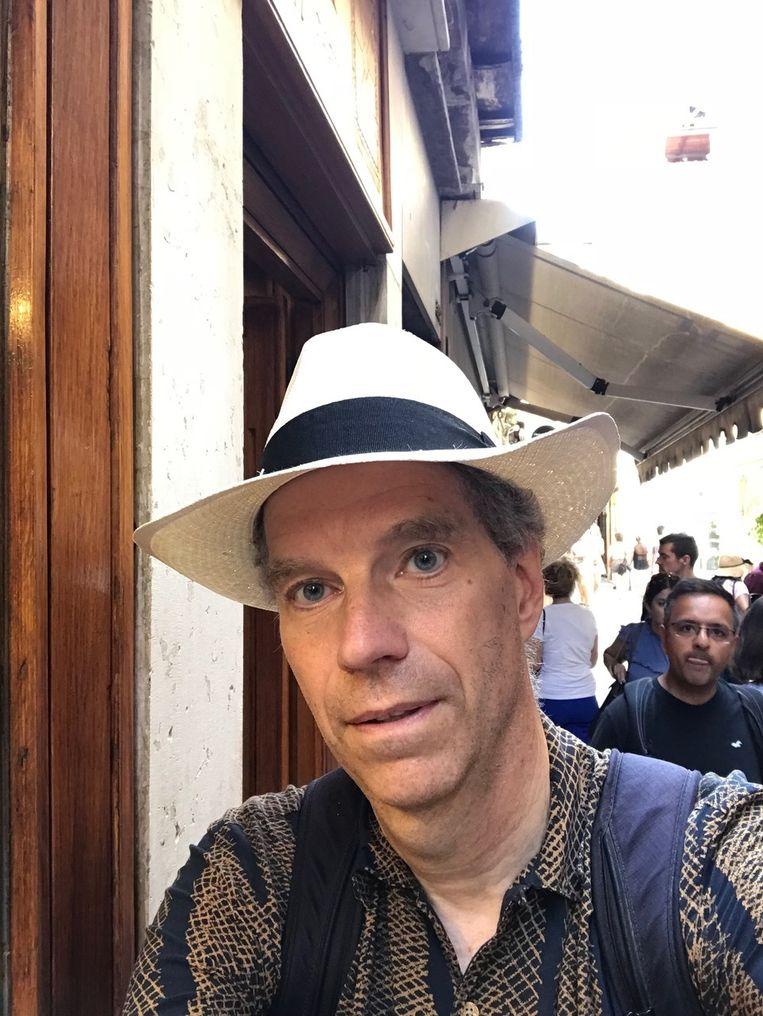 Klimaatonderzoeker Geert Jan van Oldenborgh. Beeld Privé-collectie.