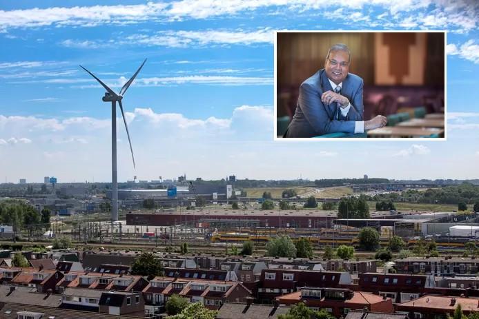 Rabin Baldewsingh en de 'gehate' windmolen in Leidschendam
