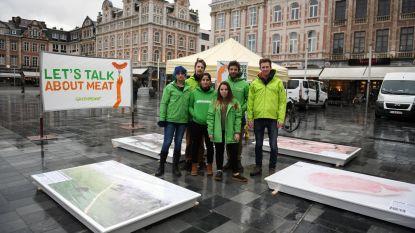 Greenpeace pleit voor minder en beter vlees