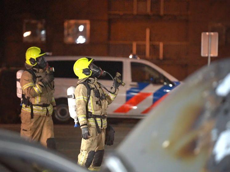 In brand gestoken auto was mogelijk aanslag op pandeigenaar