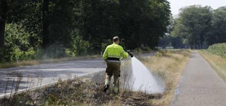 Het is heet en droog in het Land van Cuijk: risico op berm- en natuurbranden