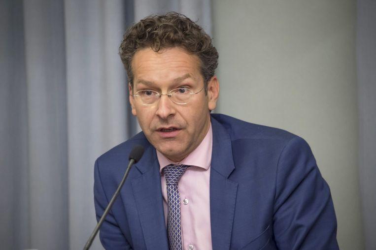 Minister van Financiën en Eurogroepvoorzitter Jeroen Dijsselbloem Beeld null