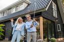 Andre en Wilma Veen van B&B SonneVallei in Harderwijk, vorig jaar verkozen tot de beste Bed & Breakfast van Nederland.