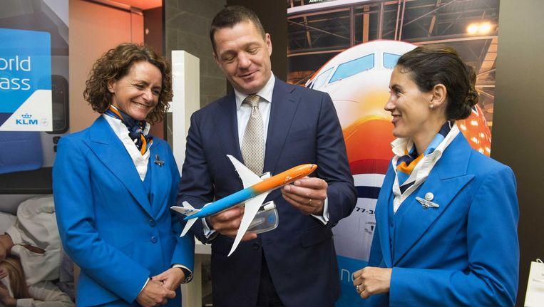 KLM-topman Pieter Elbers: 'We pakken niks af' Beeld anp