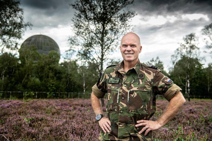 Luitenant-kolonel Bart Hoeben, verantwoordelijk voor de luchtgevechtsleiding.