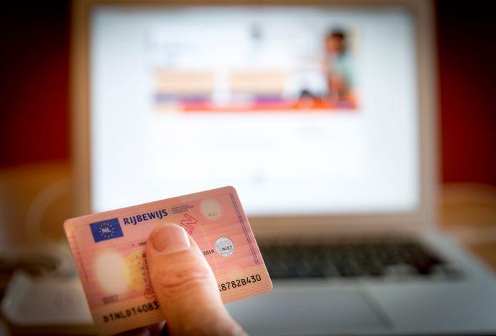Een rijbewijs. Foto ter illustratie.
