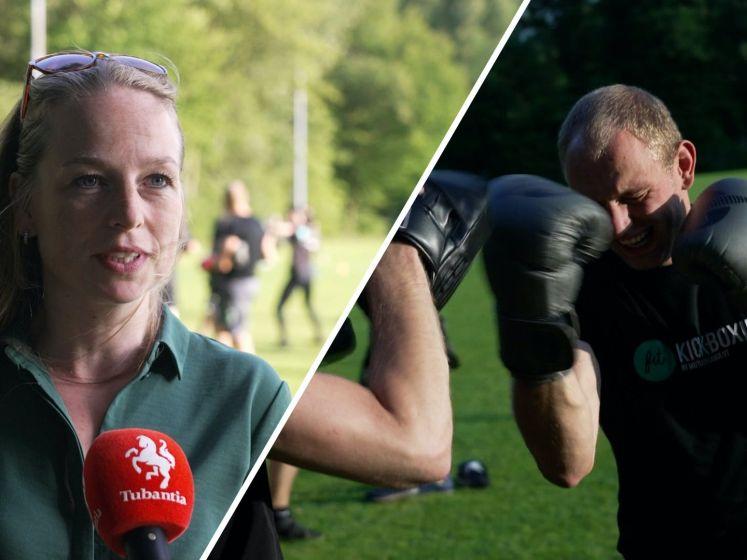 Fanatiekelingen delen klappen uit tijdens sportles in Hengelo: 'Push jezelf om door te gaan'