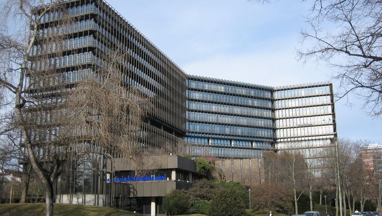 De hoofdzetel van het Europees Octrooibureau in München. Beeld Wikimedia Commons/Oliver Kurmis