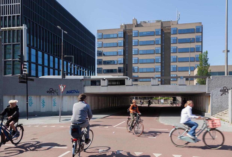In de oude rechtbank aan de Parnassusweg in Zuid komt in de toekomst wellicht het Museum of Contemporary Art. Beeld Nina Schollaardt