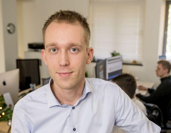 ALMELO -  Stefan Dijkstra heeft een app om te quizzen bedacht.