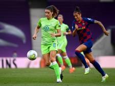 Dominique Janssen houdt met Wolfsburg Lieke Martens uit CL-finale