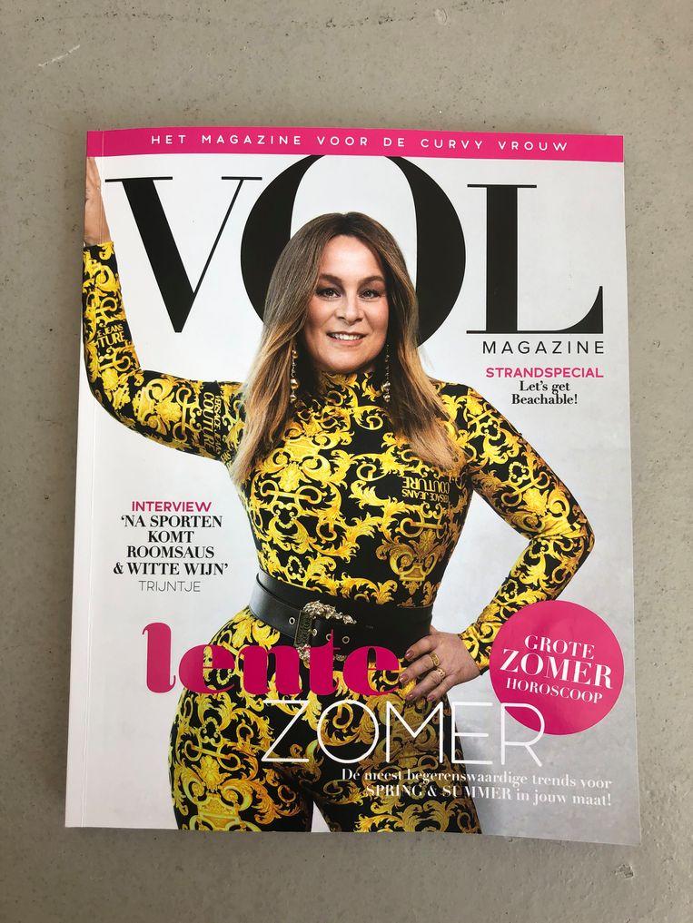 Vol Magazine met Trijntje Oosterhuis op de cover.  Beeld Gidi Heesakkers