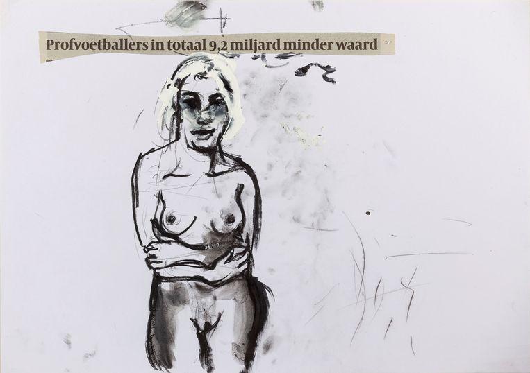 Erik van Lieshout - Untitled (2020). Beeld Galerie Annet Gelink