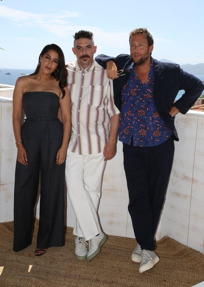 Leïla Bekhti, Damien Bonnard et Joachim Lafosse
