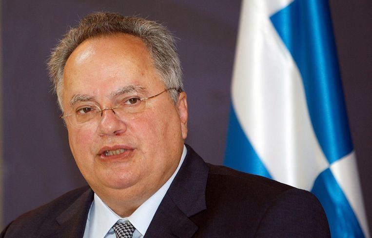 Nikos Kotzias. Beeld EPA