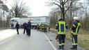 Tientallen medewerkers waren in touw bij de hulpverlening en bergingswerkzaamheden.